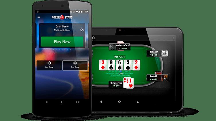 PokerStars on the go
