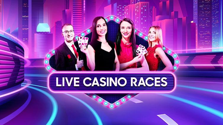 Live-Casino-Rennen