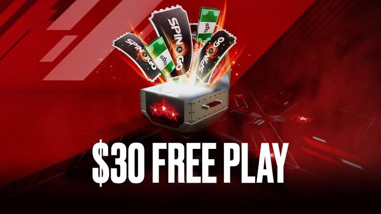 Free $30 First Deposit Offer