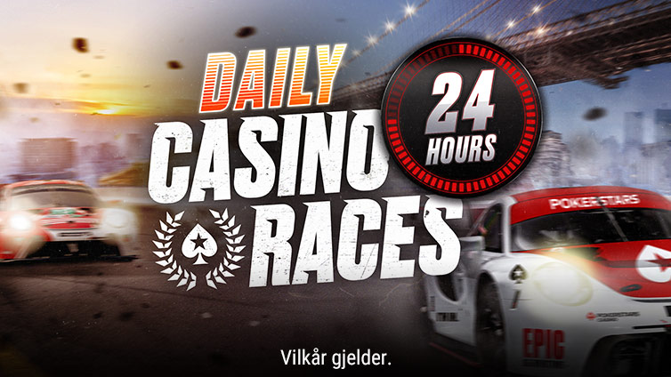 Daglige kasinokappløp
