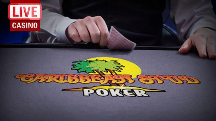 Live Caribbean Stud Poker