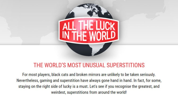 The World's Most Unusual Superstitions