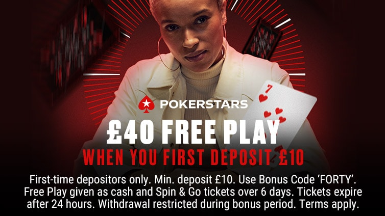 £40 Free Play First Deposit Offer