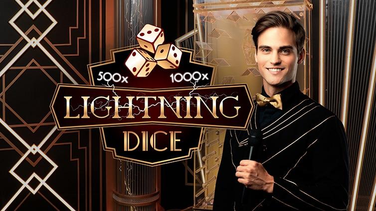 Живая игра Lightning Dice