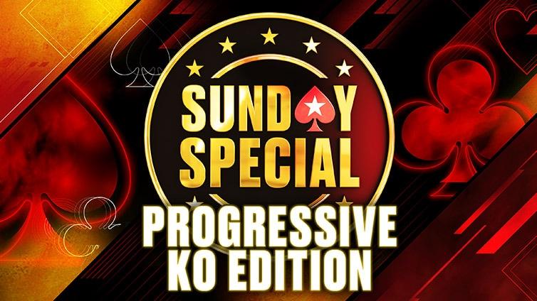 Sunday Special Progressive Knockout Edition