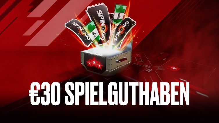 Use bonus code 'GERMANY' when you make your first deposit of at least €20 and you'll get €30 of Free Play.