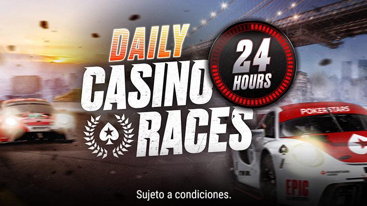 Carreras del casino diarias