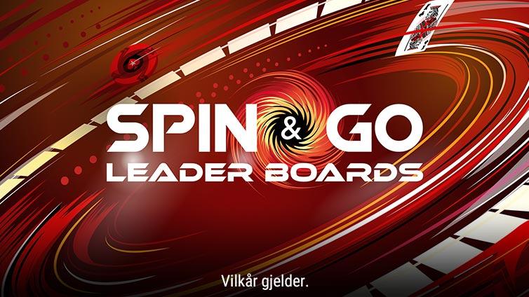 Spin & Go-ledertavler