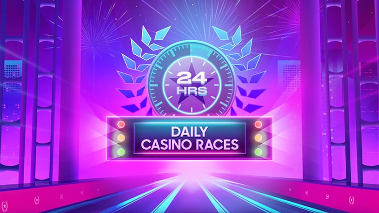 Tägliche Casino-Rennen