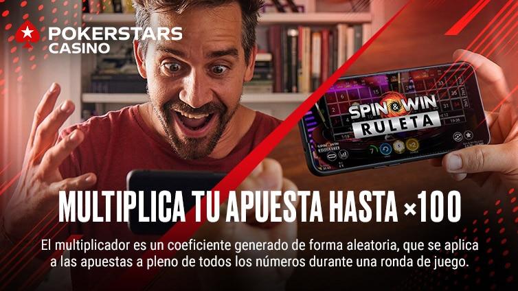 Spin & Win Ruleta