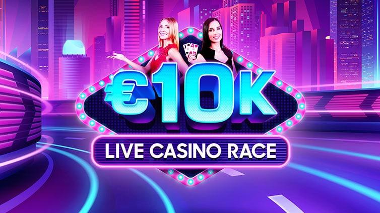 Carreras del casino en vivo