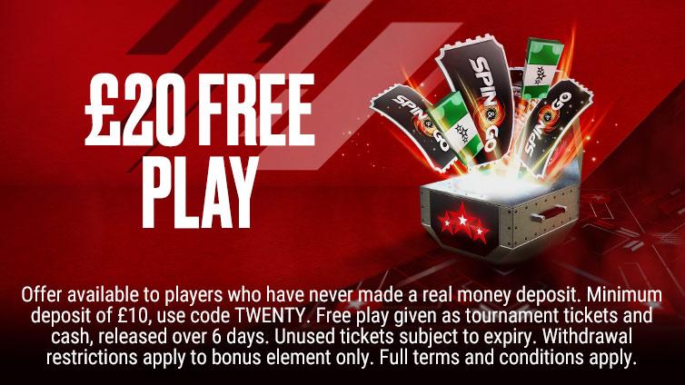 £20 Free Play