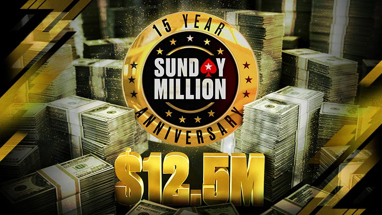 Sunday Million 15th Anniversary