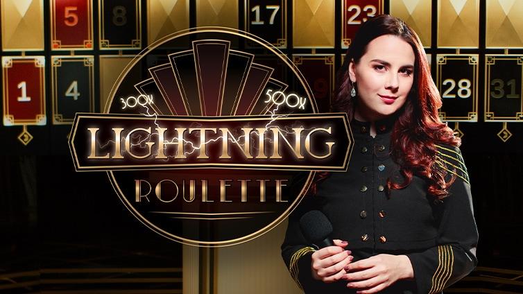 Живая рулетка Lightning Roulette