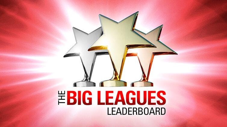 Big Leagues – Mesečna lestvica
