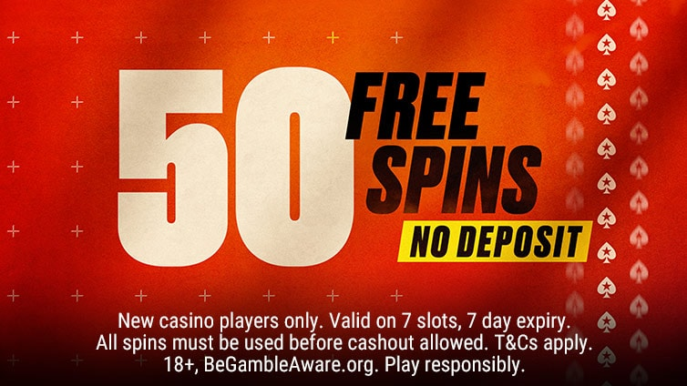 Welcome aboard with 50 Free Spins.