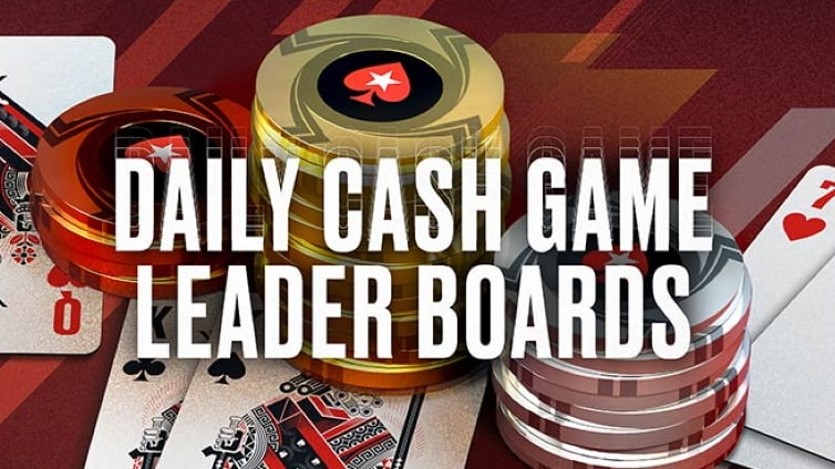 Daily Cash Leaderboards