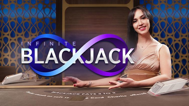 Живой блэкджек Infinite Blackjack