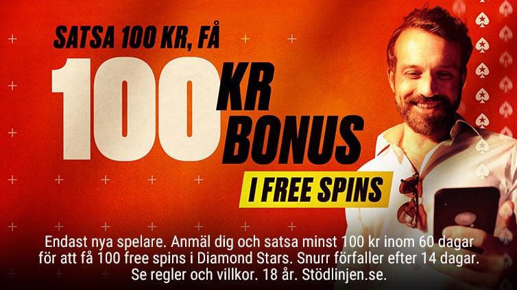 Välkomsterbjudande med free spins